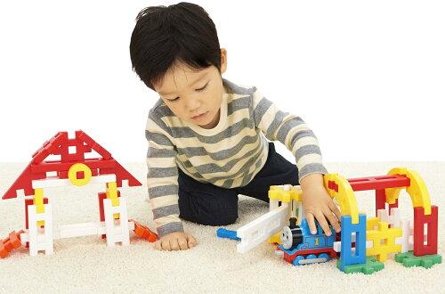 トーマス学研ブロック玩具ニューブロックおでかけバッグ(2019)83268学研ステイフル