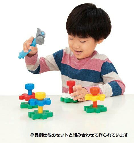 学研ブロック玩具ニューブロックたたいてつながる!トンカチパック83120学研ステイフル