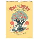 トムとジェリー カレンダー 2021年 カレンダー 壁掛け AM15020 学研ステイフル