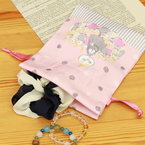 ムーミン巾着巾着袋(ピンク)F10051学研ステイフル