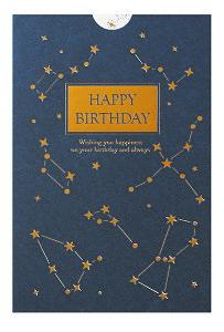 誕生日カード レーザーカット 箔 カード (星) B38294 学研ステイフル