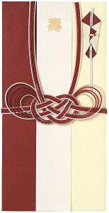 ご祝儀袋 THE2TONE 金封 (赤あわじ結び) E45045 学研ステイフル