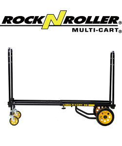 ROCK N ROLLER Cart/R8RT -Mid- 【ロックンローラーマルチカート】楽器や機材の運搬に。キャリーカート ワゴン 台車