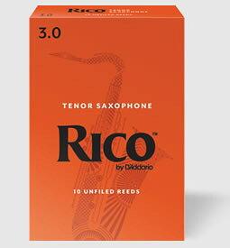 D'Addario Woodwinds /RICO リコ テナーサックス用リード(10枚入り)【ダダリオ ウッドウィンズ/リコ】