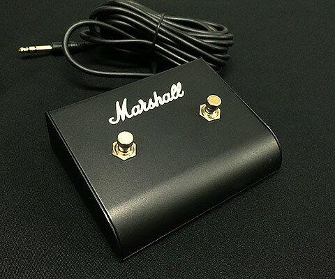 Marshall/LED無2連 フットスイッチ 91004【マーシャル】