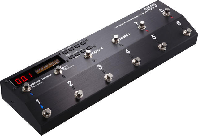 BOSS/Effects Switching System ES-8 エフェクト・スイッチング・システム スイッチャー ラインセレクター【ボス】