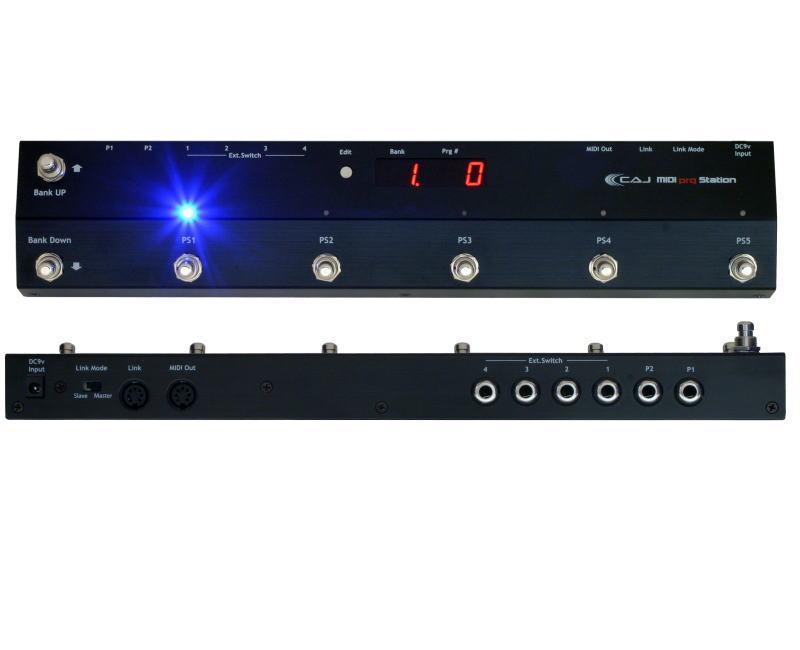 CAJ/MIDI prg Station MIDIコントローラー MIDIスイッチャー【カスタムオーディオジャパン】