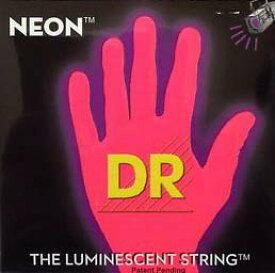 DR/NEON Guitar String Neon Red DR-NRE エレキギターネオン弦