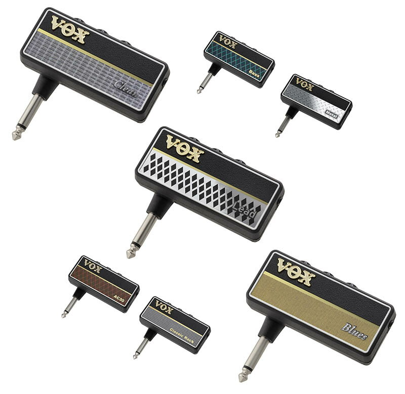 VOX/ヘッドホン・ギター・アンプ amPlug2【AC30,ClassicRock,Metal,Bass,Clean,Blues,Lead】【メール便発送代引き不可】【ボックス/アンプラグ】