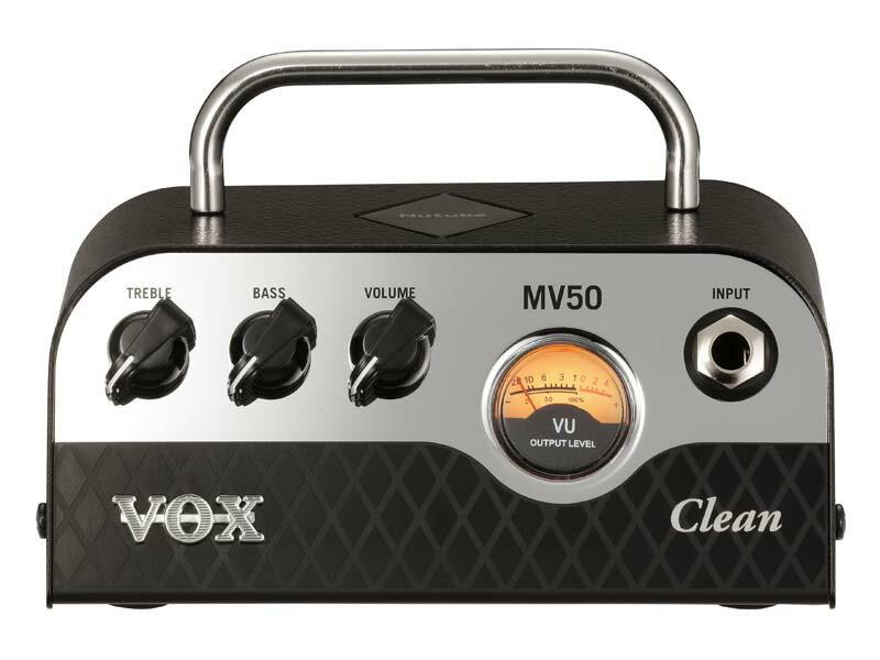VOX/Nutube搭載 ギターヘッドアンプ MV50-CL【ボックス】