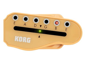 KORG/クリップ式チューナー headtune HT-G1(6連ペグギター用)【コルグ】