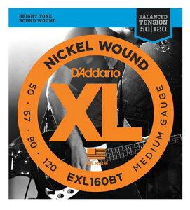 D'addario/ベース弦 EXL160BT Balanced Tension【ダダリオ】【メール便OK】