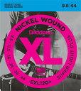 D'addario/エレキ弦 EXL120+【ダダリオ】【メール便OK】【楽器de元気】