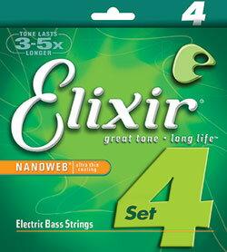 Elixir/ニッケルベース弦 NANO WEB 【14002.14052.14077.14087.14102】【エリクサー】【楽器de元気】