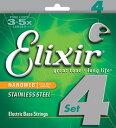 Elixir/ステンレスベース弦 NANO WEB【14652.14677】【エリクサー】【楽器de元気】