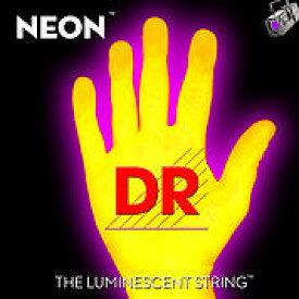 【8月のお買い得品】DR/NEON Guitar String Neon Yellow DR-NYE エレキギターネオン弦
