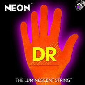 【8月のお買い得品】DR/NEON Guitar String Neon Orange DR-NOE エレキギターネオン弦