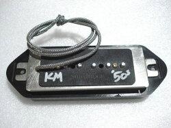 (P)LollarPickups/GuitarPUP-90DogEar50'sWindBridge/BK