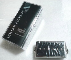 (P)LollarPickups/GuitarPUSingle-HBChromeRingNeck/Mt.BK