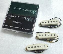 (P)LollarPickups/GuitarPUTWEEDStratSETStg/Cream