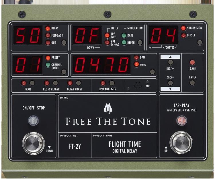 Free The Tone/FLIGHT TIME FT-2Y デジタルディレイ【フリーザトーン】