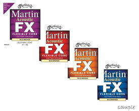 Martin/アコースティック弦 FLEXIBLE CORE Bronze【マーチン/MFX675・EMFX640・MFX645・MFX650】【メール便OK】