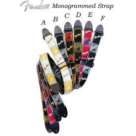 """Fender/ストラップ 2"""" MONOGRAMMED STRAPS モノグラムストラップ【フェンダー】"""