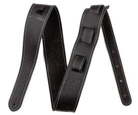 Fender/ストラップ Monogram Leather Strap Black【フェンダー】
