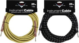 Fender Custom Shop/ケーブル Performance Series Cables 25' INST CABLE【フェンダー】