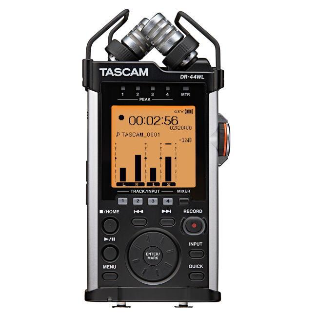 TASCAM/DR-44WL VER2-J Wi-Fi接続対応 リニアPCMレコーダー【タスカム】