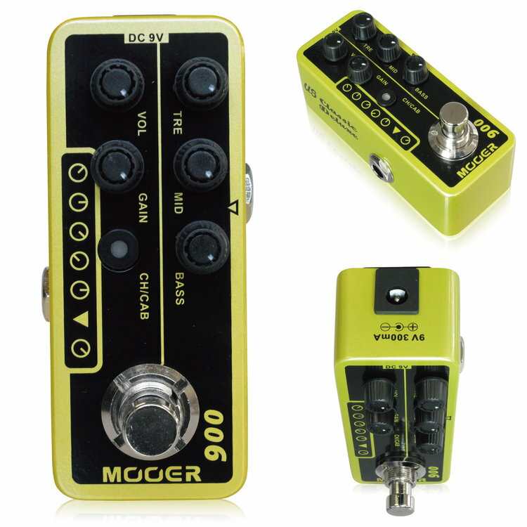 Mooer Micro Preamp006 ムーアー / マイクロプリアンプ006【正規輸入品】