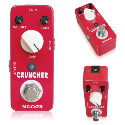 Mooer/Cruncher クランチャー ハイゲインディストーション【ムーアー】【正規輸入品】