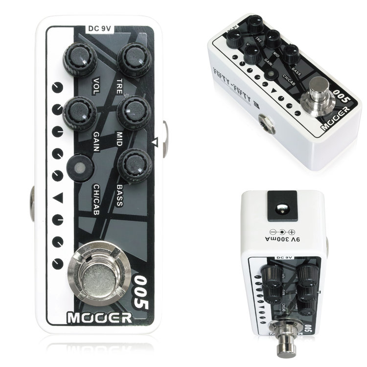 Mooer Micro Preamp005 ムーアー / マイクロプリアンプ 005【正規輸入品】