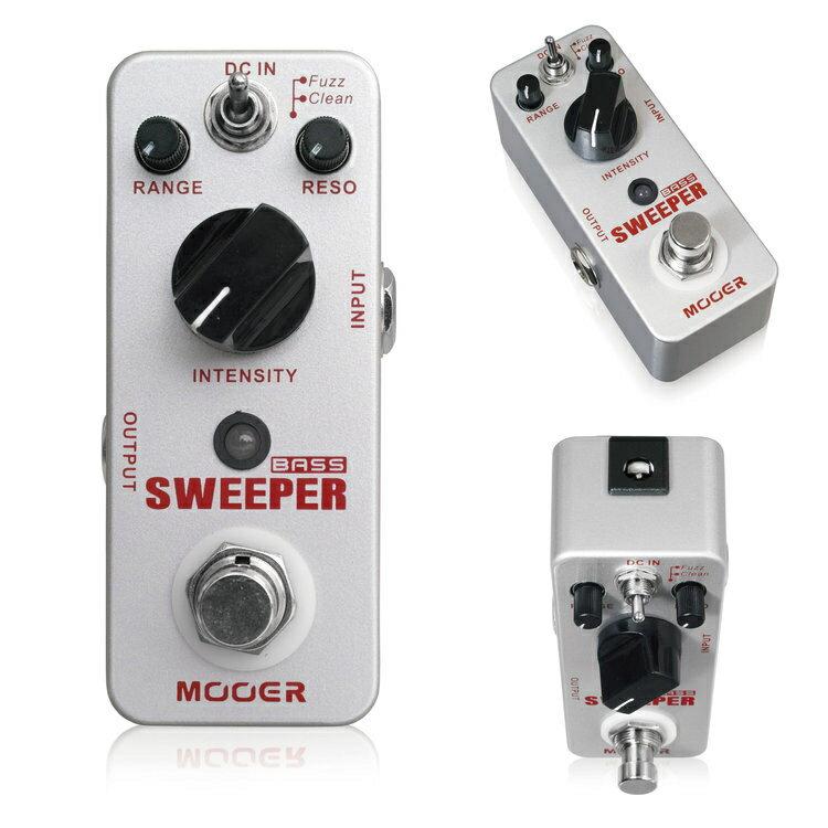 Mooer/Sweeper スウィーパー ベース用エンベロープフィルター/オートワウペダル【ムーアー】【正規輸入品】