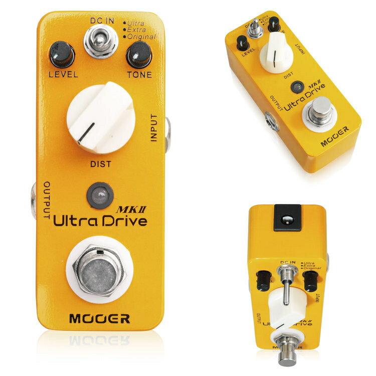 Mooer/Ultra Drive MkII ウルトラドライブ マークツー ディストーション【ムーアー】【正規輸入品】