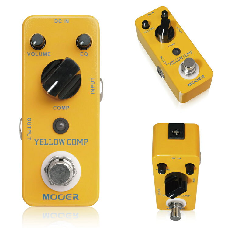 Mooer/Yellow Comp イエローコンプ コンプレッサー【ムーアー】【正規輸入品】