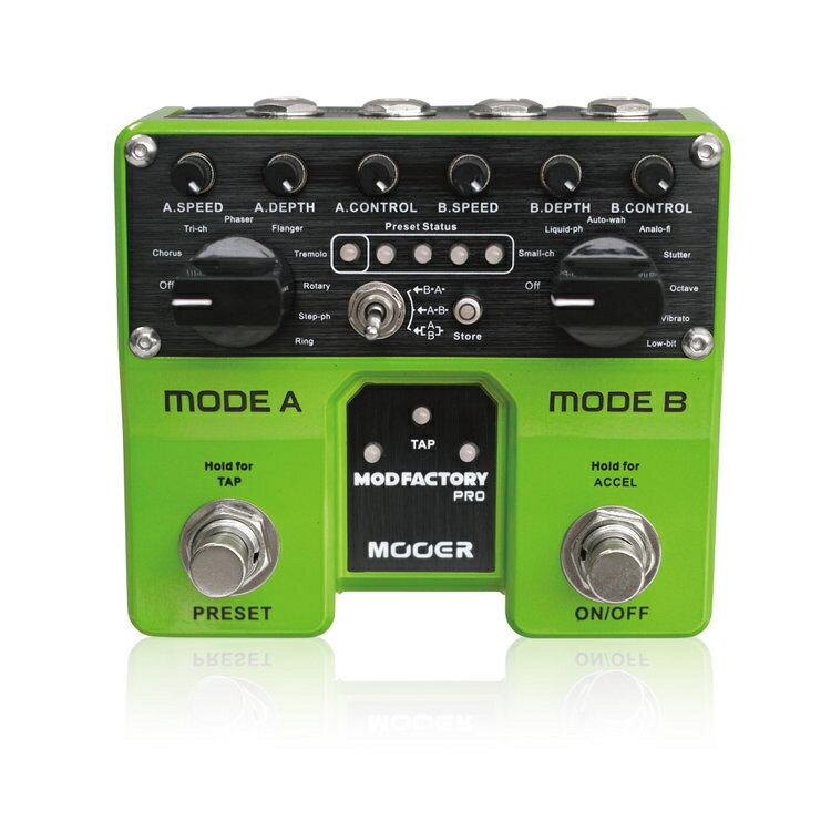 Mooer/Mod Factory Pro モッドファクトリープロ デジタルモジュレーション【ムーアー】【正規輸入品】