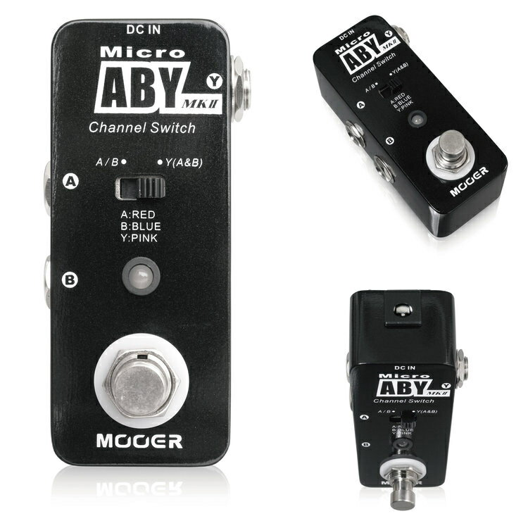 Mooer/Micro ABY MkII ラインセレクター ABYボックス【ムーアー】【正規輸入品】
