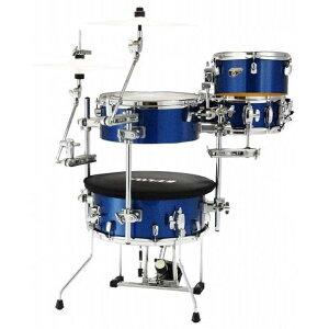 TAMA Cocktail-JAM Drum set CJB46C-ISP カクテル・ジャム ドラムセット+クランプセットミニドラム トラベルドラム【アウトドア】【タマ】
