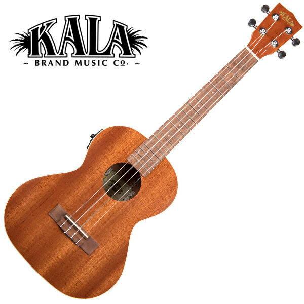 KALA KA-TE Satin Mahogany Tenor Ukulele w/bag テナーウクレレピックアップ搭載モデル【カラ】