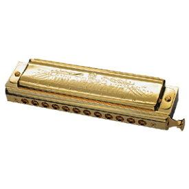 TOMBO/クロマチック・ハーモニカ No.1248SG(新仕様) UNI CHROMATIC GOLD ユニ・クロマチック・ゴールド【トンボ】