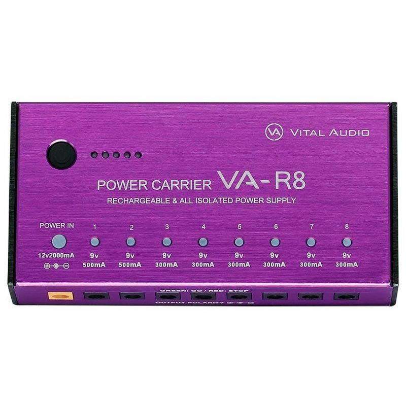 VITAL AUDIO/POWER CARRIER VA-R8(パワーキャリア ブイエーアールエイト) パワーサプライ【バイタルオーディオ】