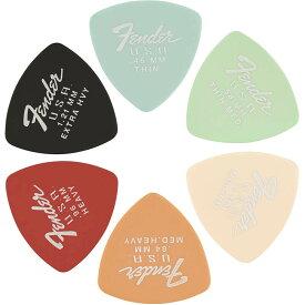 Fender Dura-Tone Delrin Pick 346-shape 12-Pack【フェンダーピック12枚パック】
