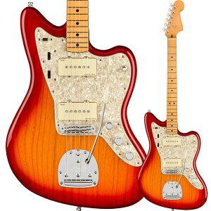Fender American Ultra Jazzmaster, Maple Fingerboard, Plasma Red Burst【フェンダーUSAジャズマスター】