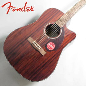 Fender CD-140SCE Dreadnought Walnut Fingerboard All-Mahogany w/case【フェンダーエレアコ】