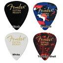 Fender/ピック 351 Shape Classic Picks Extra Heavy 10枚【フェンダー】【メール便発送代引き不可】