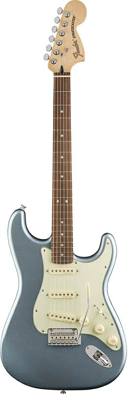 Fender Deluxe Roadhouse Strat Mystic Ice Blue Pau Ferro Fingerboard【フェンダーストラトキャスター】