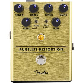 Fender Pugilist Distortion ディストーション【フェンダーエフェクター】