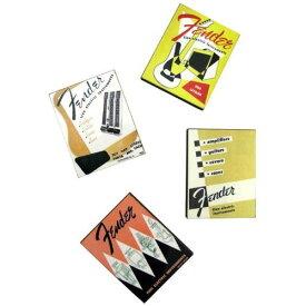 FENDER CATALOG MAGNETS (SET OF 4)カタログデザインマグネット