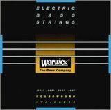 Warwick/ベース弦 黒ラベル (6弦用ロングスケール)【メール便OK】【ワーウィック】